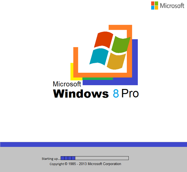 Windows 2000 boot screen