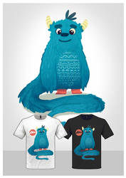 Cute Monster Tee 01 by dIeGoHc