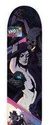 Who Do You Love skate deck   candy by fvallejo