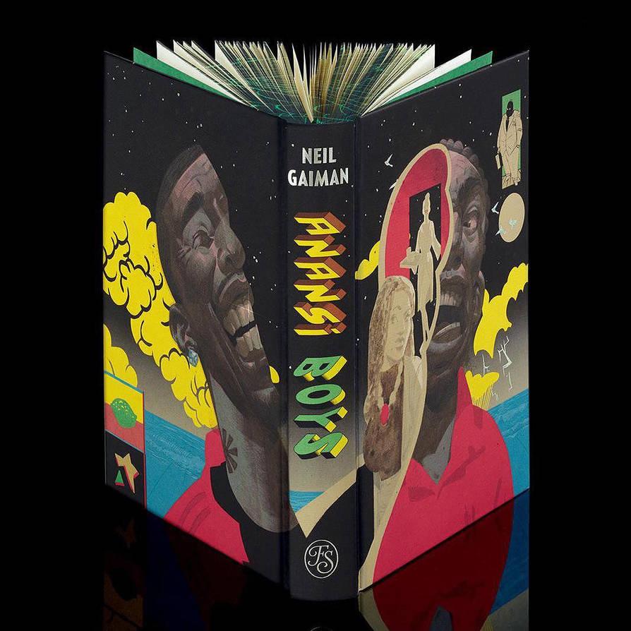 Anansi Boys by Neil Gaiman for The Folio Society by fvallejo