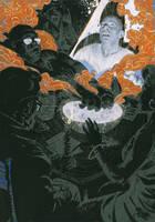 Anansi Boys Interior   by Neil Gaiman by fvallejo