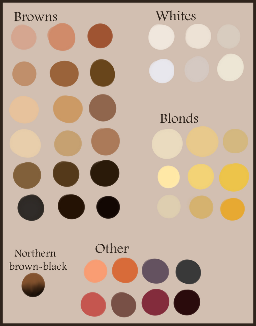 Linestorm Writing Thosestoriesuntold Hair Color Reference