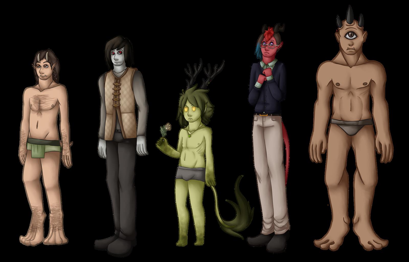 The new monster boys by ElithianFox