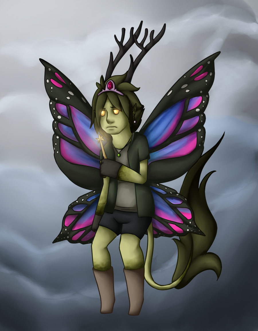 The Gayest Little Fairy by ElithianFox