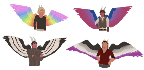 Sexuality Wings by ElithianFox