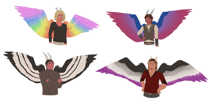 Sexuality Wings