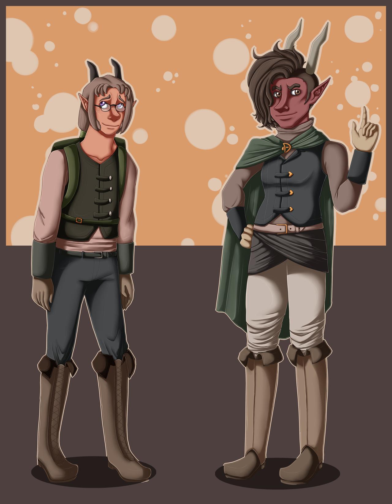 Rebel Assassin Thieves by ElithianFox