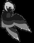 Four Wing Demon by ElithianFox