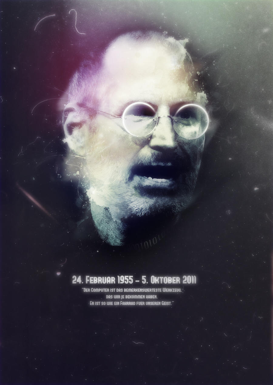 R.I.P - Steve Jobs by crcunltd