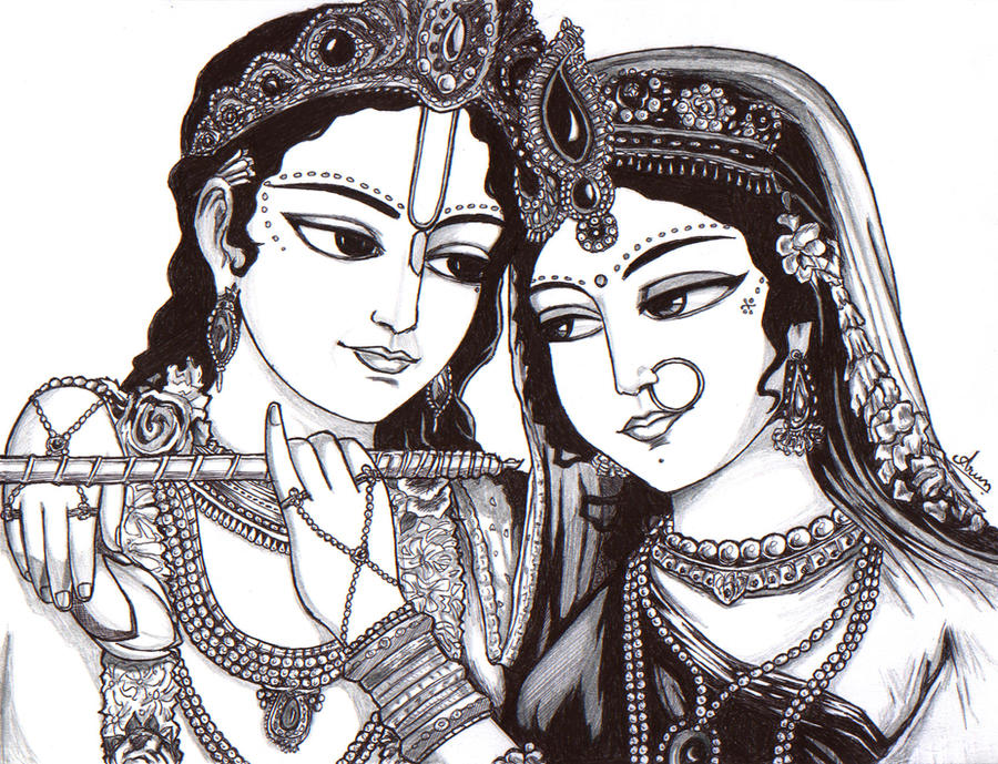 Images Of God Krishna And Radha. Lord Krishna and Radha Rani by