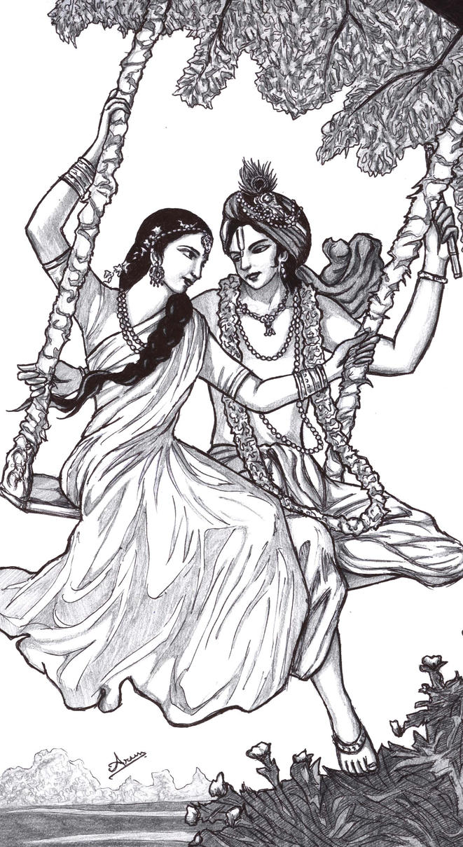 Krsna_Radha_swing By Nairarun15 On DeviantArt