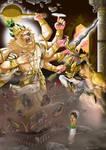 Digi Paint: Narasimha Pillar Break Part 1