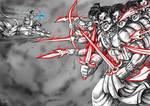 Anime Digi Paint: Lord Rama vs Demon King Ravana