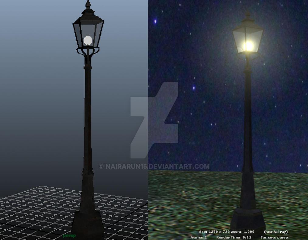 3d Modelling Narnia Lamp Post By Nairarun15 On Deviantart
