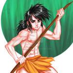 Digital Fan Art: Mowgli Jungle Book