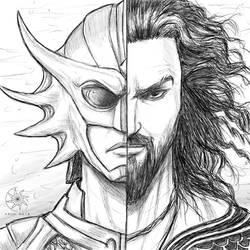 Digital Sketch: Aquaman! by nairarun15
