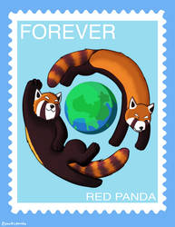 Forever Stamp by pokiipanda