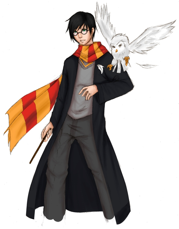 Harry Potter by dagreenpillow