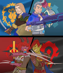 MMOs' faction.