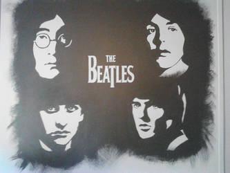 Beatles mural