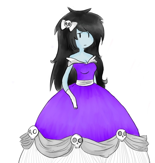 Marceline In A Dress M...