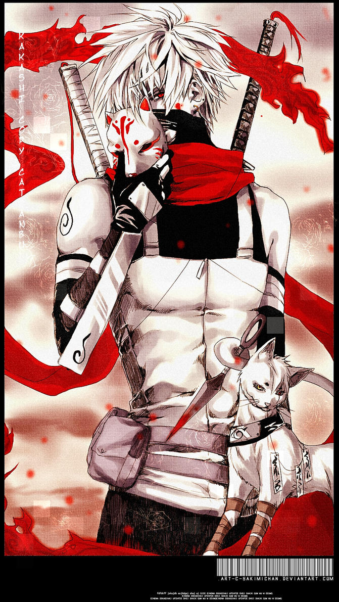 .Kakashi copy cat Anbu. by sakimichan
