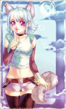 Anime-Wolf Girl