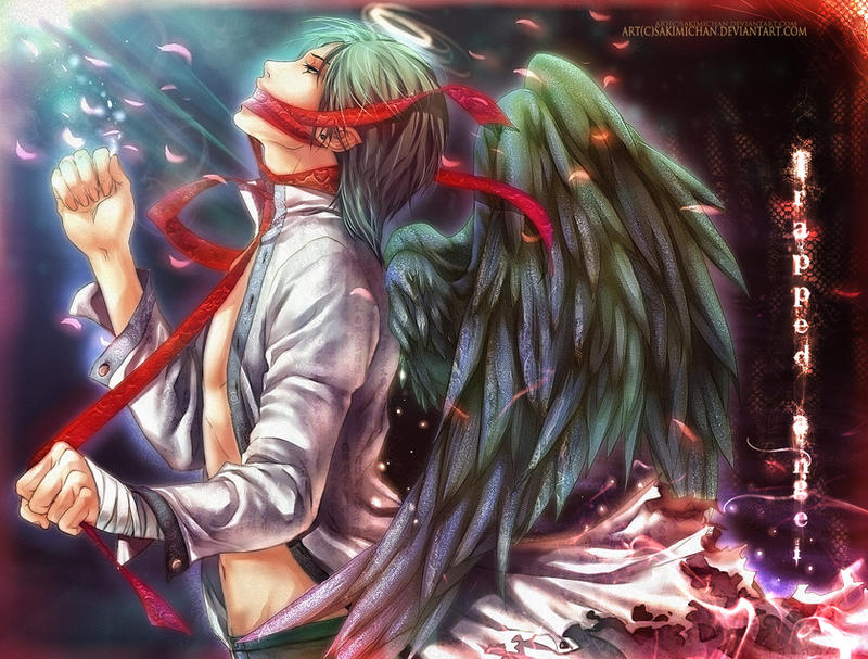 .Trapped Angel.Wallpaper-fied. By Sakimichan On DeviantArt