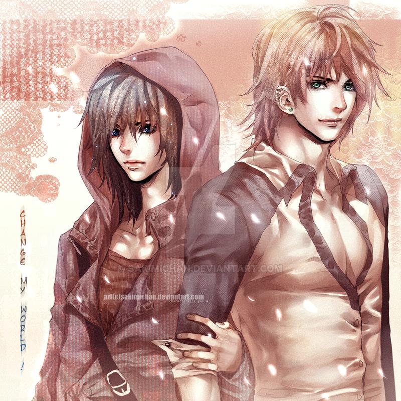 .Secret love . by sakimichan
