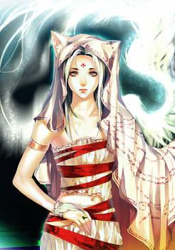 . One Winged Cat Goddess.