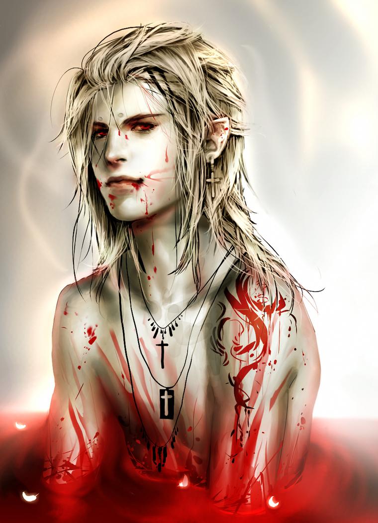 Вся информация _Bath_in_blood__by_sakimichan