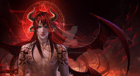 Diablo by sakimichan