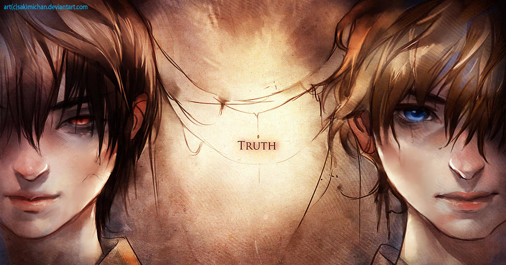 Truth or False by sakimichan