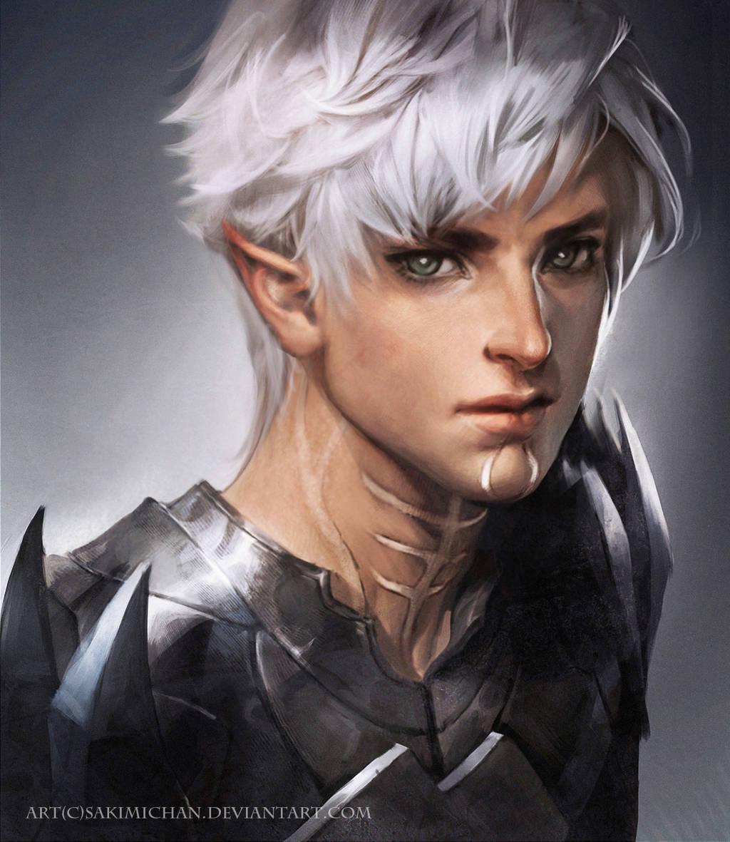 Fenris Dragon age II by sakimichan