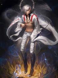 White Mystic by sakimichan