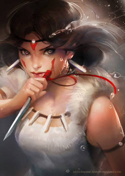 Princess Mononoke (Prints for sale)