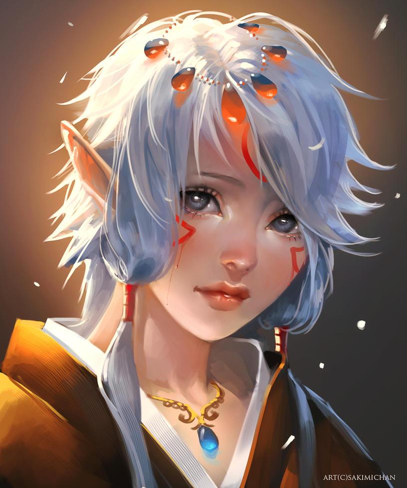 elf child by sakimichan on deviantart