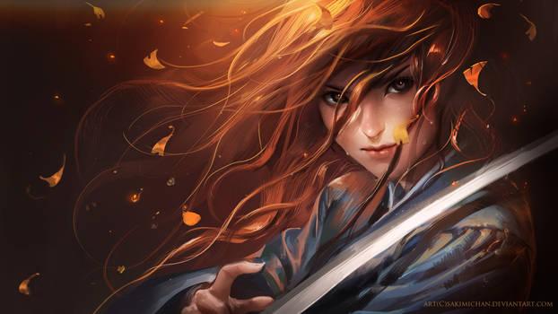 Red Haired Samurai