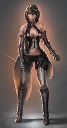 Elf Assassin by sakimichan