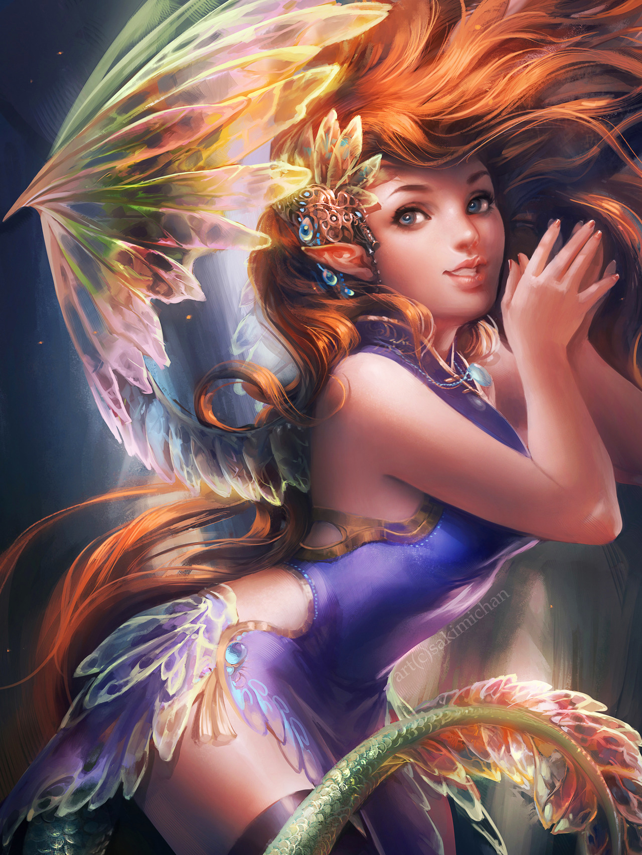 Ifx fairy by sakimichan on deviantart for Buy digital art online