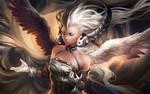Yin Yang Goddess by sakimichan