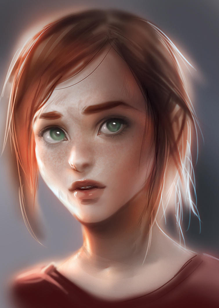 Ellie by sakimichan