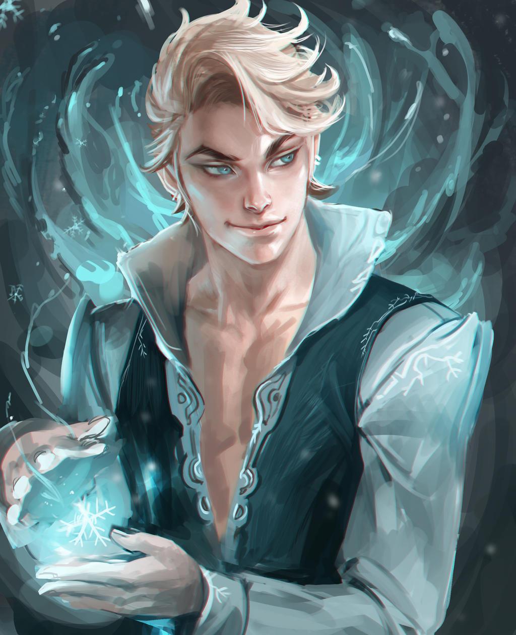 Snow King by sakimichan