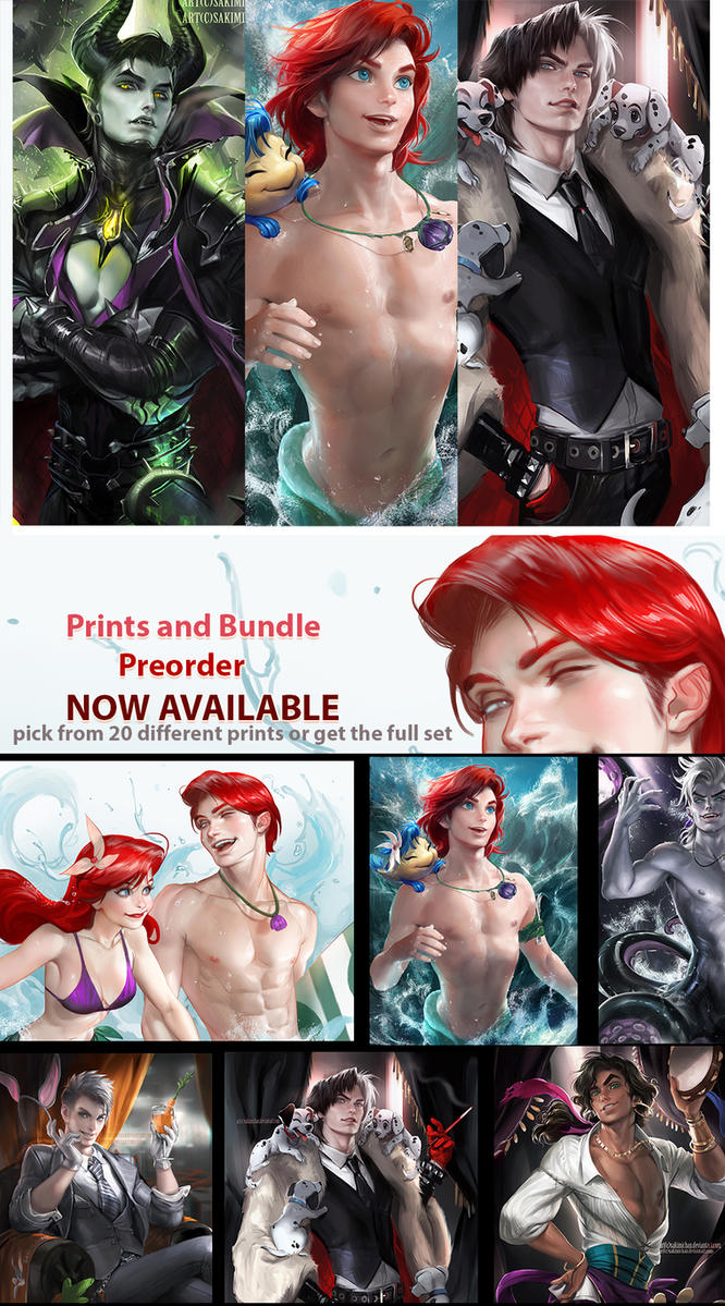 GB Print Bundle Sale (OCTOBER PREORDER) by sakimichan