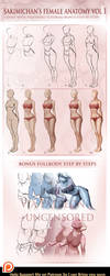 Female Fullbody step by step tutorial by sakimichan
