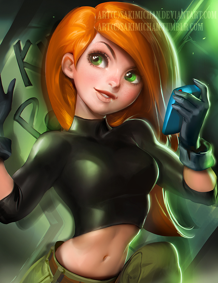 kim Possible by sakimichan
