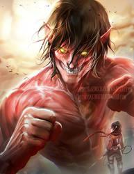 Titan by sakimichan