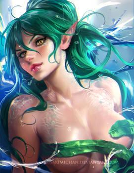 Shane the mermaid