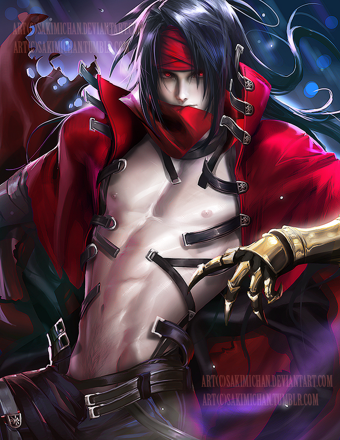 Vincent Valentine .NSFW optional. by sakimichan