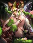 Viking Elf Fearie by sakimichan